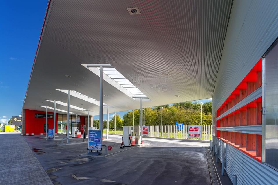 Автозаправочная станция в Нидерландах