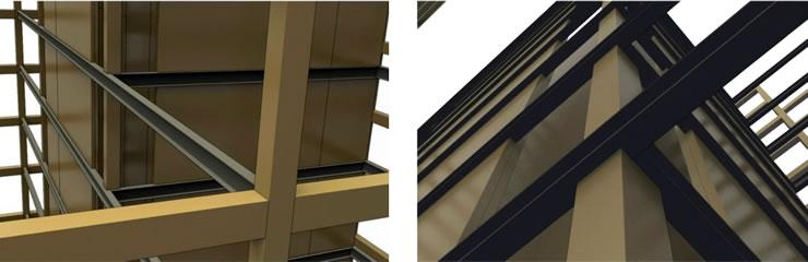 Обвязочные балки деревянных небоскребов